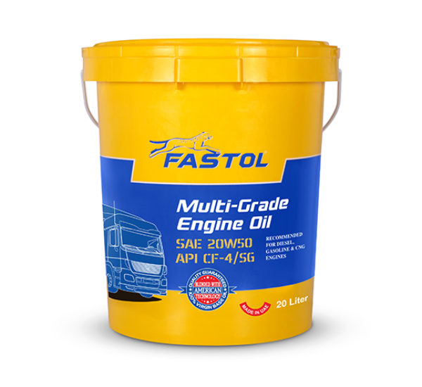 Fastol Multi-Grade Engine Oil 20W50 20L