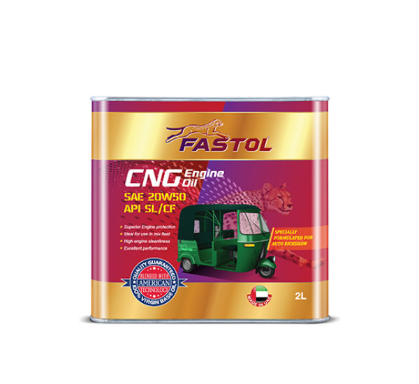 Fastol CNG Engine Oil 20W50 2L