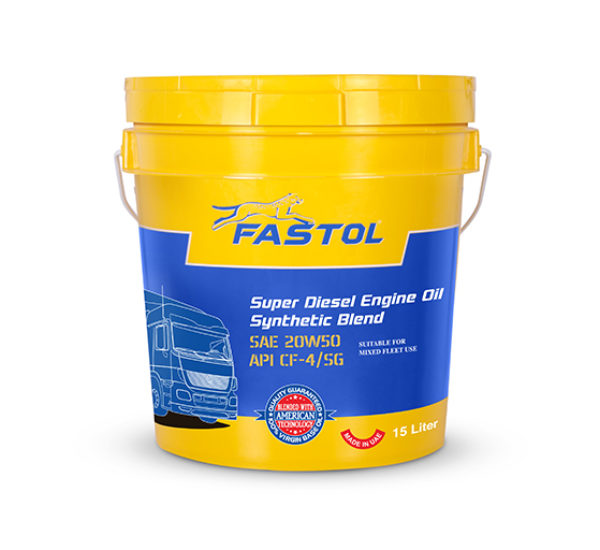 Fastol Super Diesel Engine Oil 20W50 15L